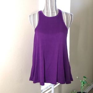 INTIMATELY FREE People tank top XS purple